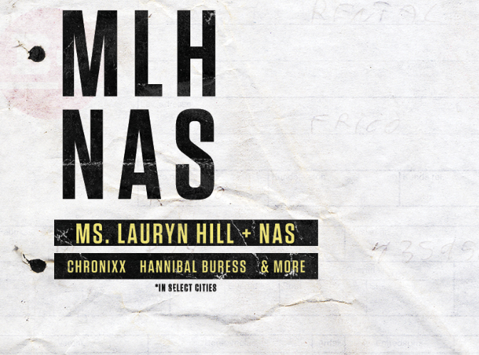 Ms Lauyrn Hill Nas Plus Special Guests Black South Florida